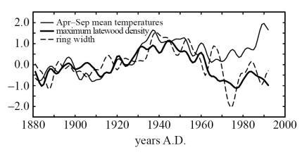 Briffa-tree_ring_density_vs_temperature_1880-2000